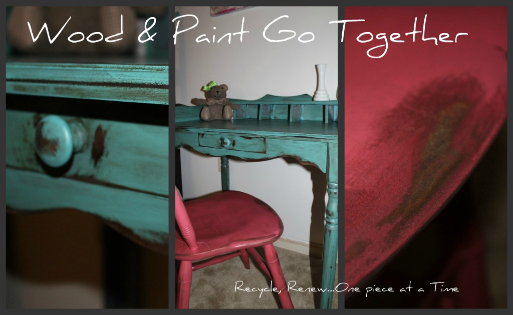 Wood & Paint Go Together