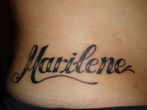 Tatuagem de nomes