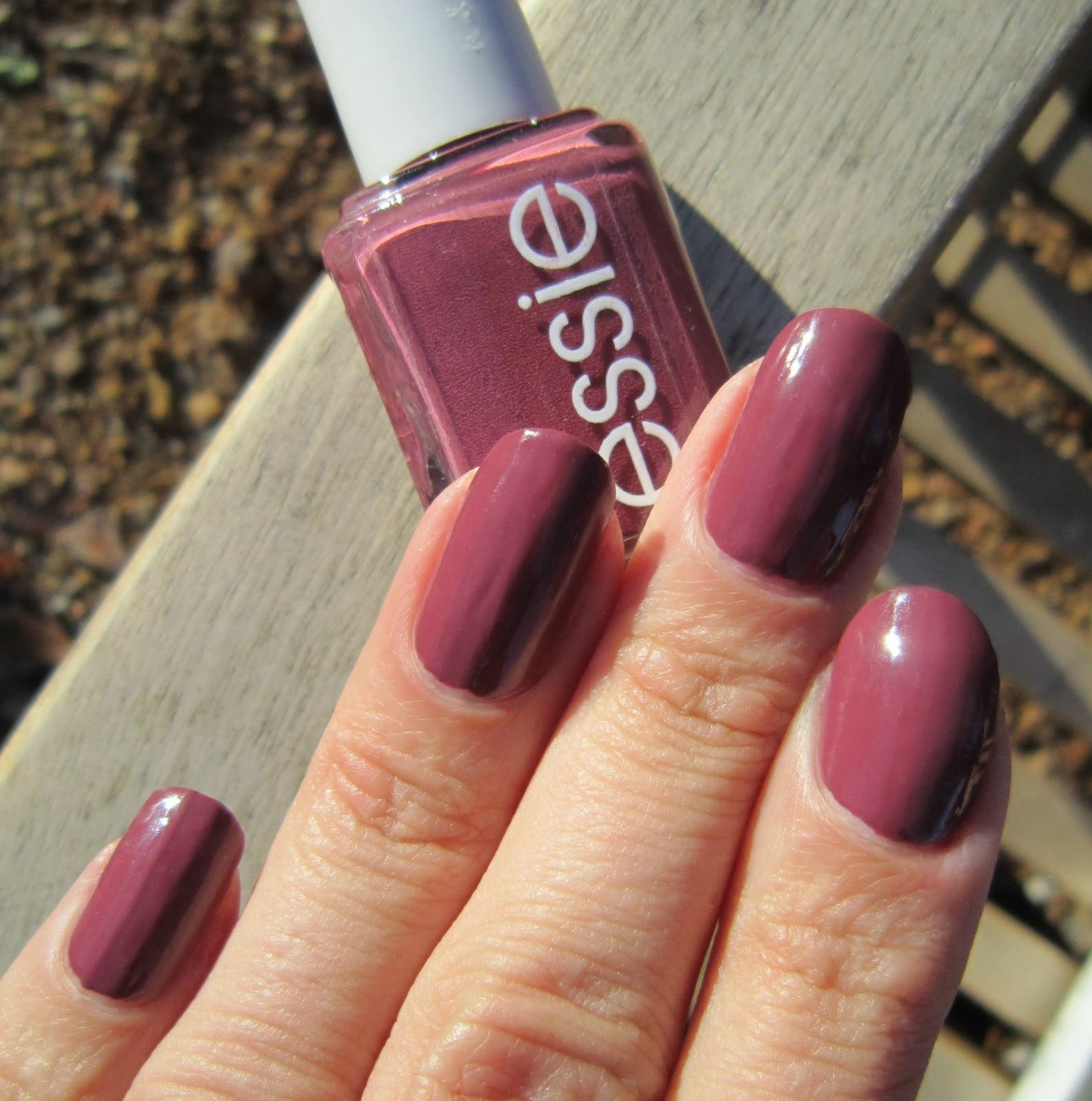 Concrete and Nail Polish: Essie Angora Cardi