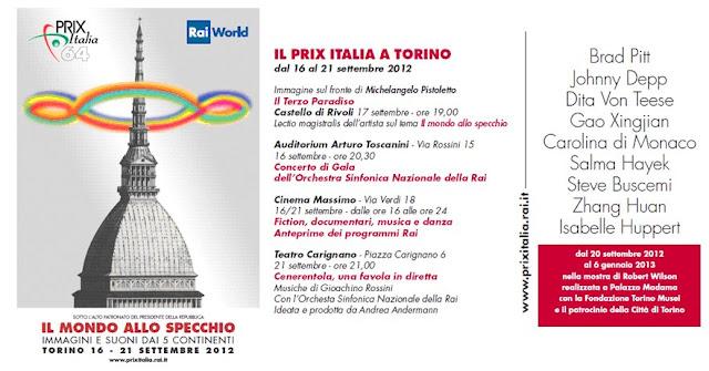 Prix Italia, Torino 16-21 settembre 2012