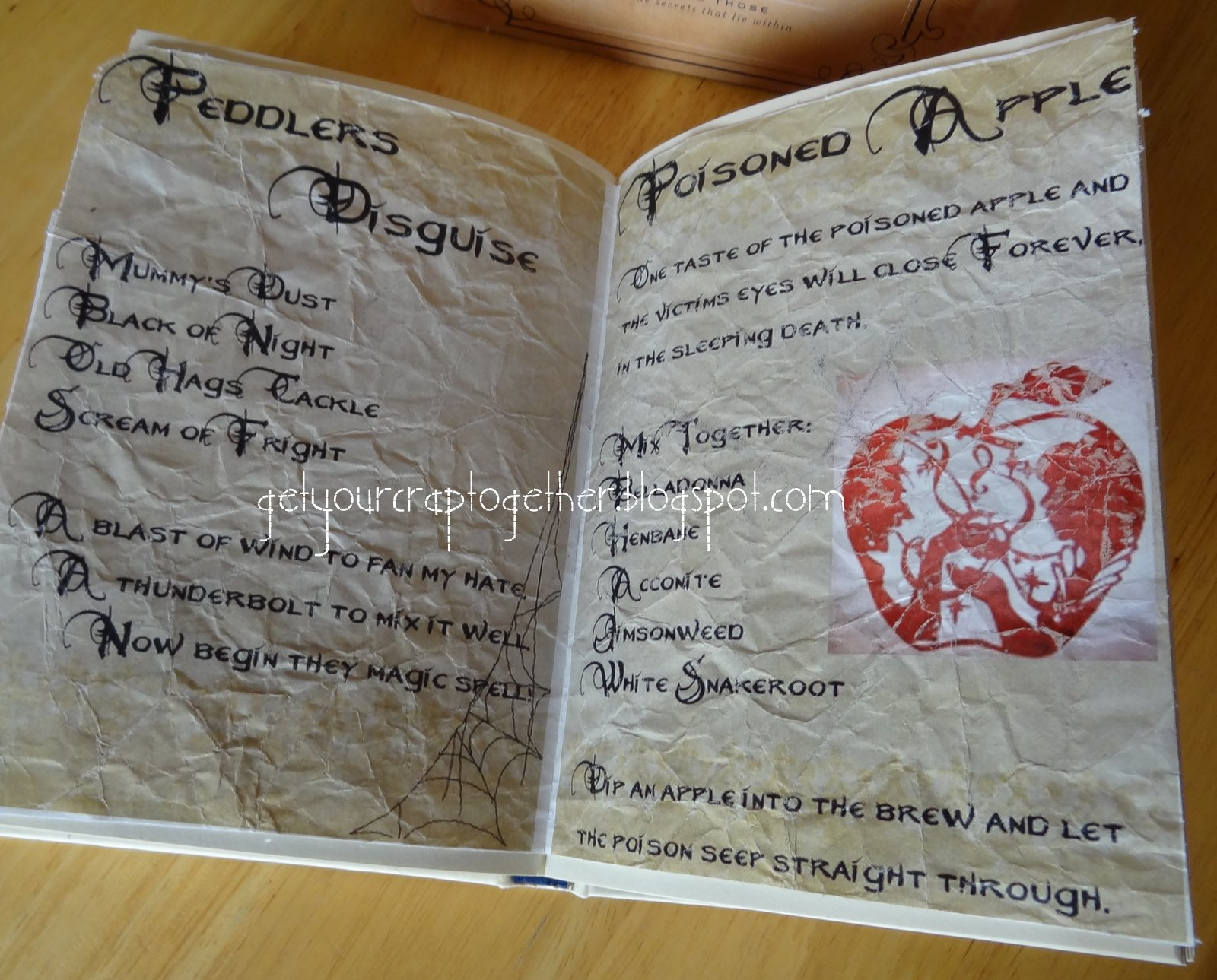 get your crap together 31 days of halloween spell books
