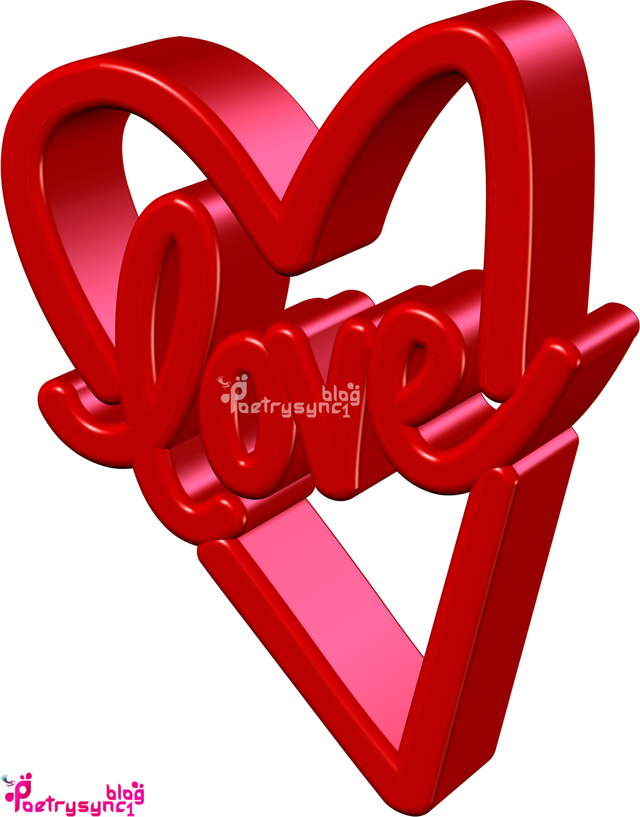 Amazing Wallpaper Love English - Love-3D-Wallpaper-In-Red-Colour-By-Poetrysync1  Collection_591329.png