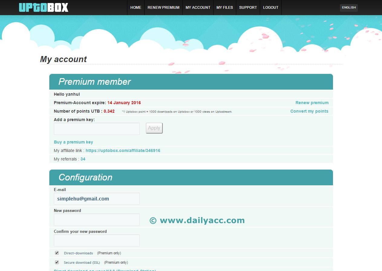 Depfile premium account 2014 - Uptobox Com Premium Account 31 December 2015 Until 14 January 2016