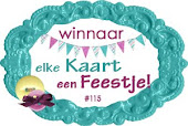Winnaar bij Elke Kaart Een Feestje