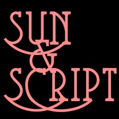 Sun and Script