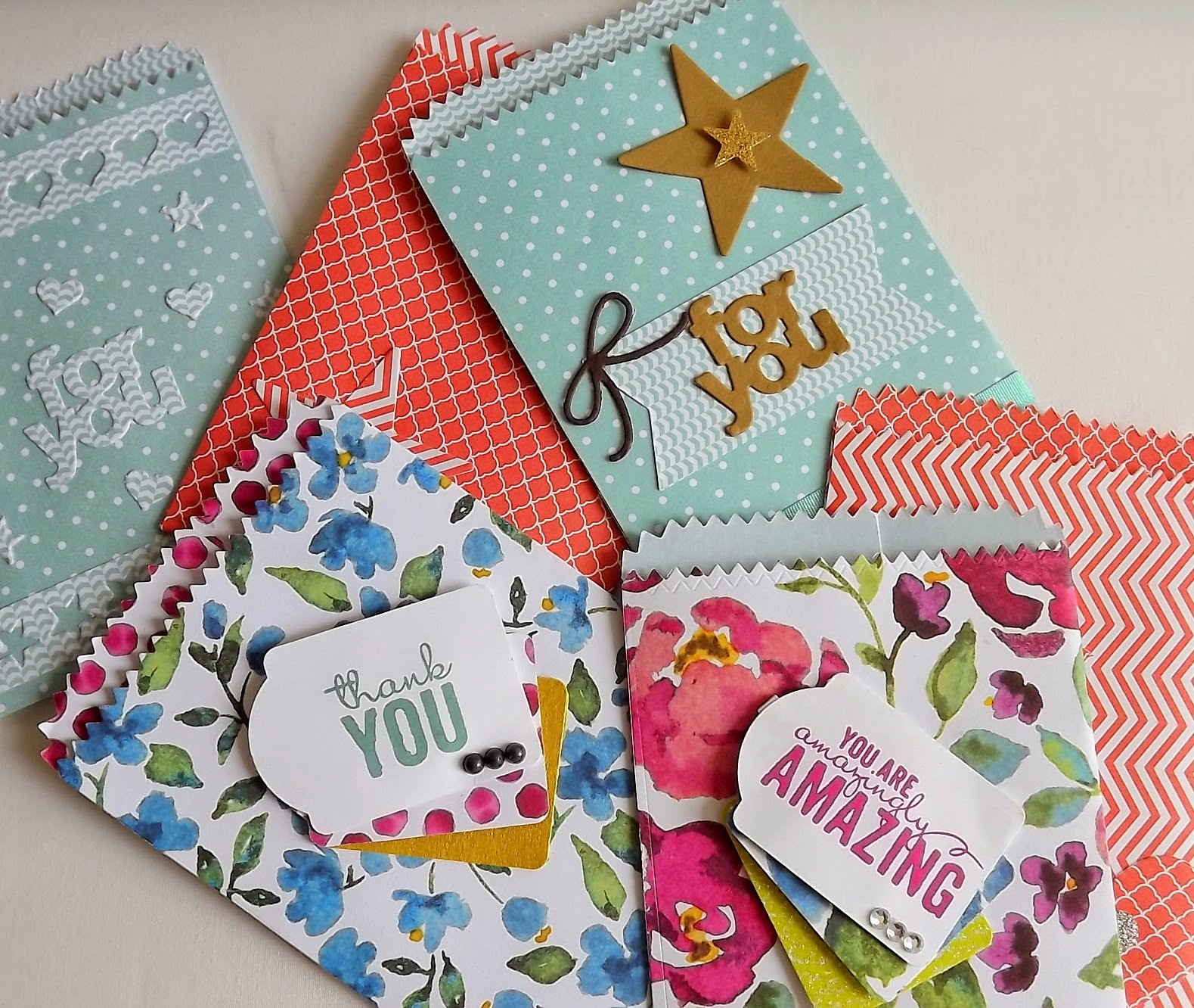 Stampin Up! Mini Treat Bags