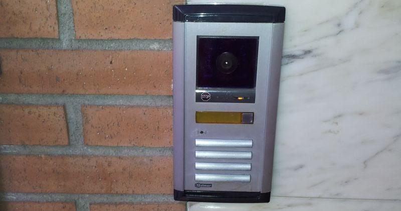 Instalaci n videoportero con control acceso en ngulo - Instalacion de videoportero ...