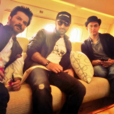Aamir Khan, Ranbir Kapoor & Anil Kapoor at Nita Ambani's birthday bash