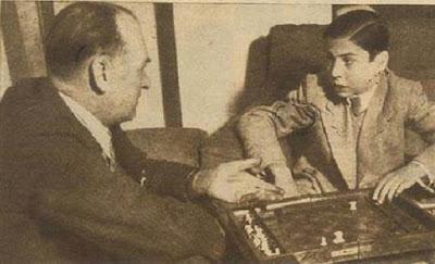 Alekhine y Arturito Pomar