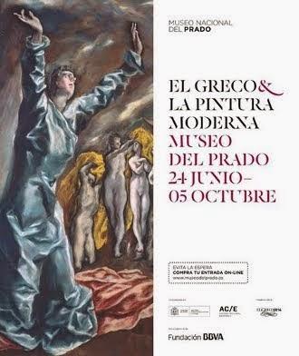 """Exposición """"EL GRECO Y LA PINTURA MODERNA"""""""