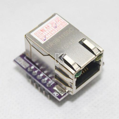 NEW Mini LAN Ethernet ENC28J60 The Smallest Network Module For AVR PIC ARM MCU