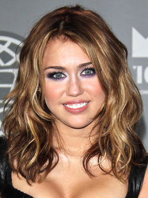 Miley Cyrus Medium Hairstyles