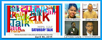 SATURDAY TALK - APRIL 18, 2015
