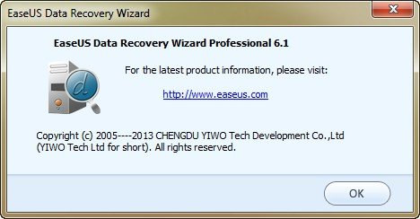easeus data recovery wizard professional 6.1 free download