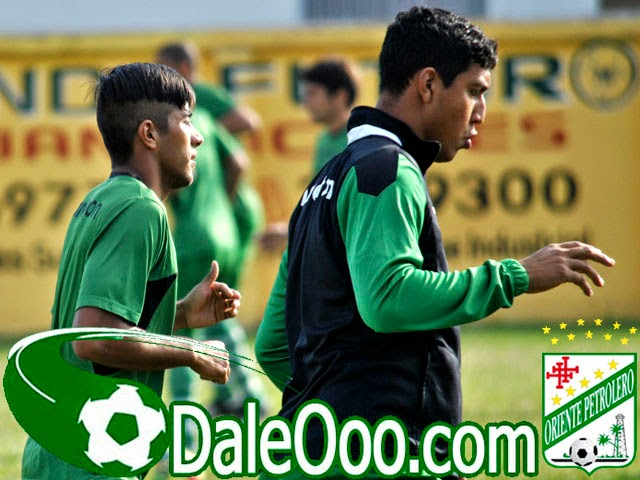 Oriente Petrolero - Ricky Añez - Ronny Montero - DaleOoo.com web del Club Oriente Petrolero