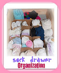 Sock Drawer Organization