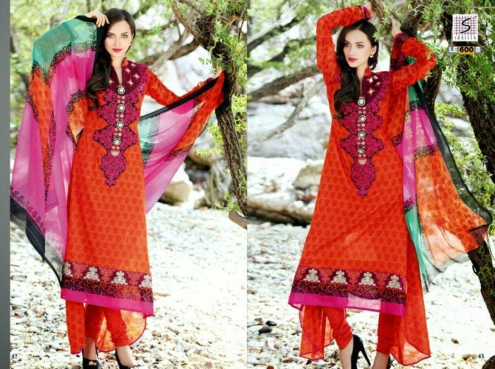 Elegant Summer Lawn Collection 2014