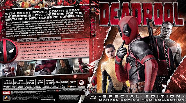 Capa Bluray Deadpool