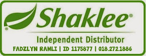 Saya Pengedar Sah Shaklee Malaysia