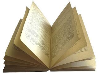 Foto de libros abiertos sin fondo