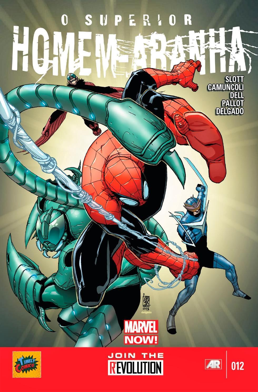 Nova Marvel! O Superior Homem-Aranha #12