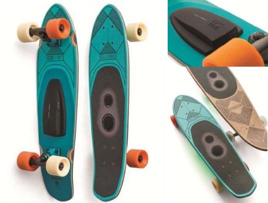 Globe speaker board le skateboard enceinte bluetooth int gr e - Creer son skateboard ...