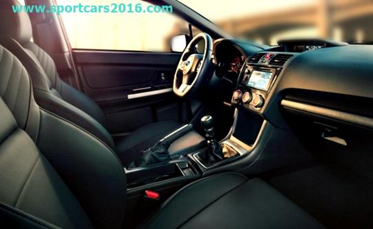 2017 Subaru WRX Interior