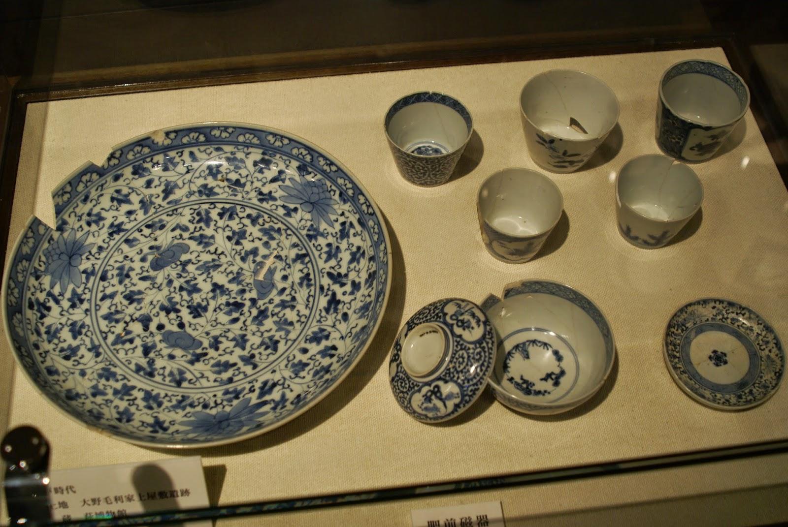 porcelaine chinoise et porcelaine japonaise