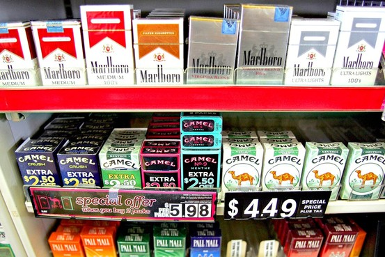 Cigarette pack price Rhode Island