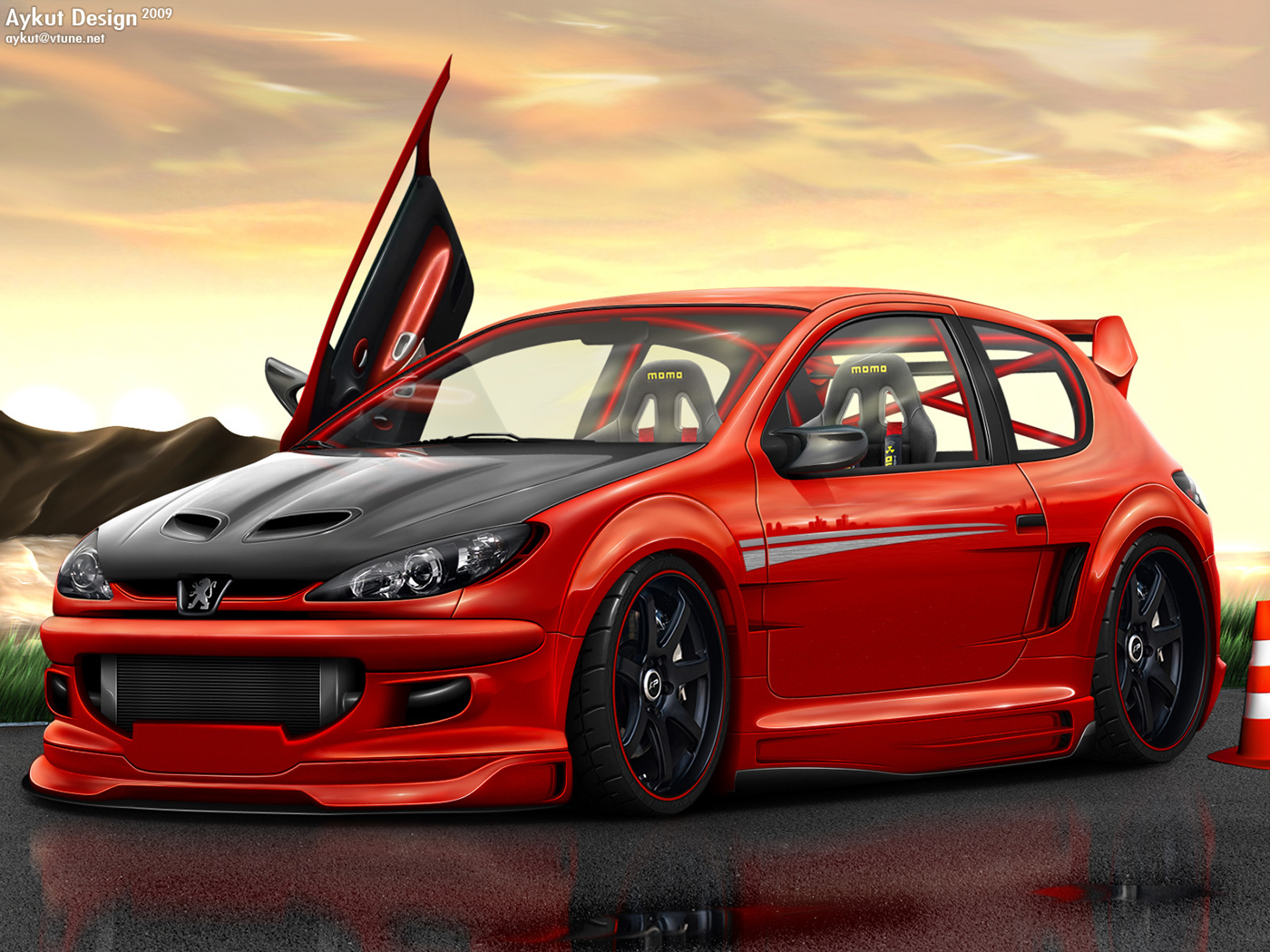 pic new posts  peugeot 206 wallpaper free download