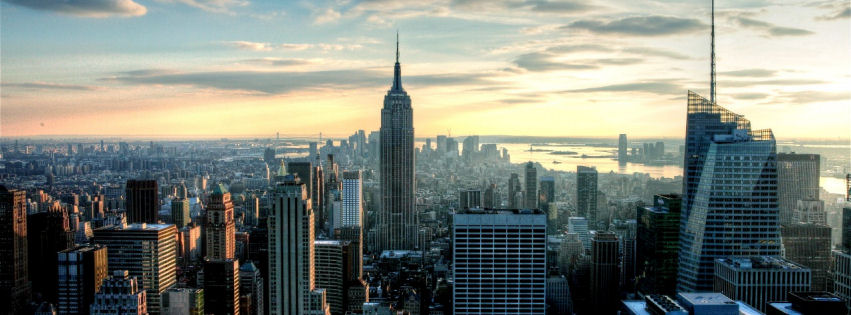 Empire state city facebook cover