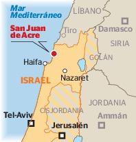 San Juan de Acre -Ubicación - Historia de las Civilizaciones