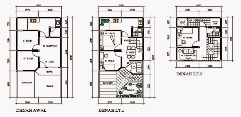 denah rumah minimalis type 36 design rumah minimalis