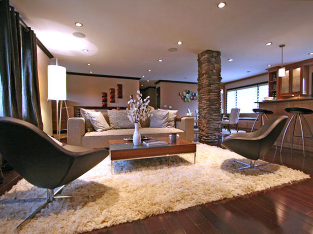 2013 Modern Neutral Living Rooms Decorating Ideas | Furniture ...