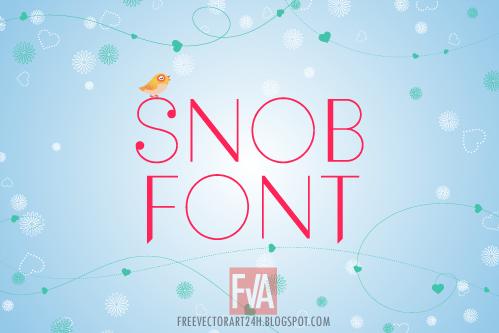 Snob-font-free-download