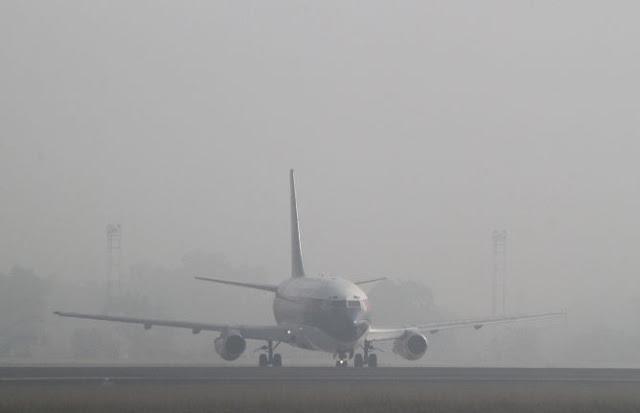 Kabut Asap Menyelimuti Mimika