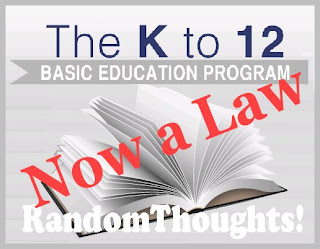 K-to12 Law