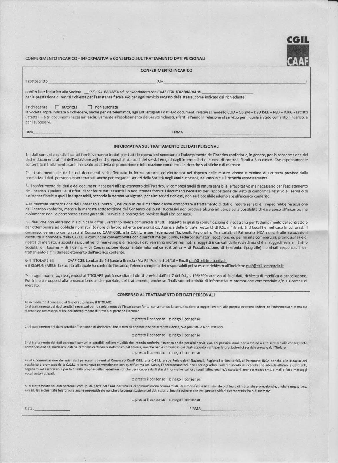 Documenti da allegare al 730 precompilato for 730 documenti