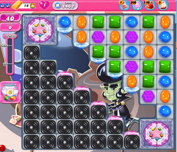 Candy Crush Saga 1462