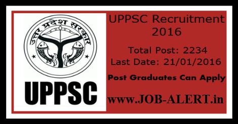 Job-alert-UPPSC-Jobs-2234-Posts