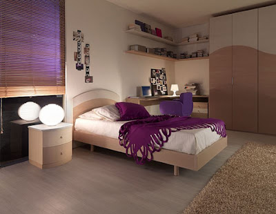 cuartos con muebles cremas