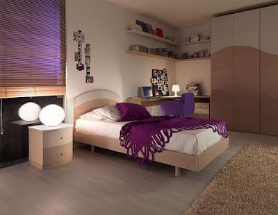 cuartos con muebles cremas