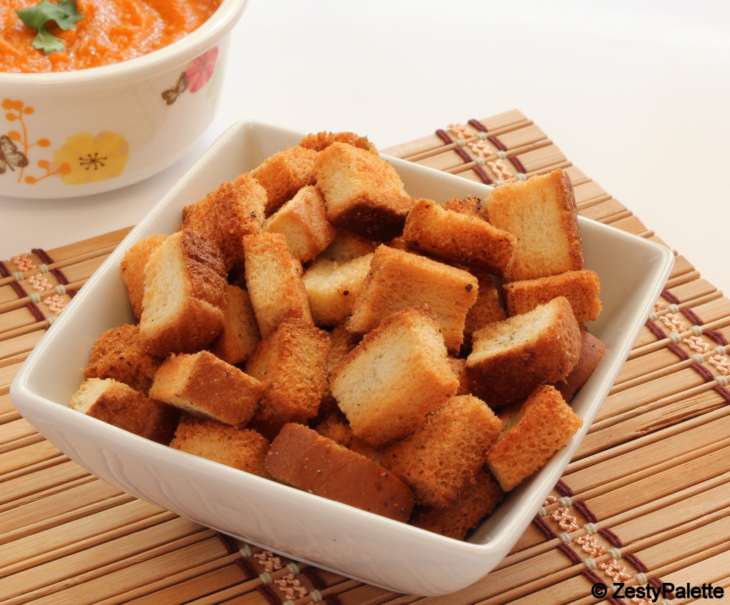 Cooks Joy - How to make Croutons