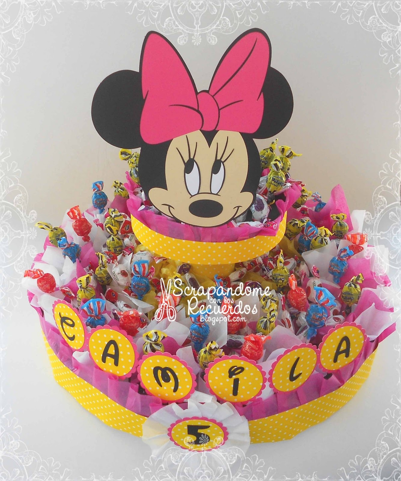 Minnie Mouse chupeteros - Imagui