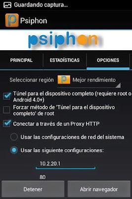 Internet Gratis Movistar México con Psiphon Nuevo Proxy 2015