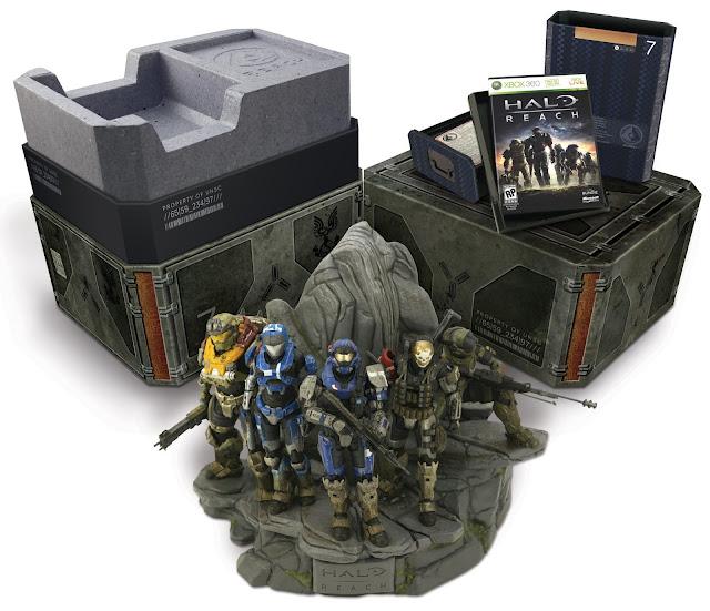 Halo Reach Collectors Edition