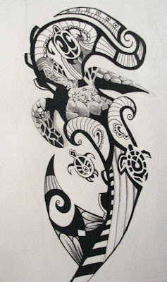 Maori Tribal Tattoos Design Picture2