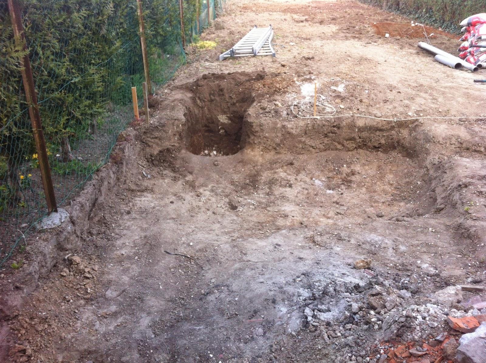 R novation de notre maison faches thumesnil cr ation du for Creuser puit jardin