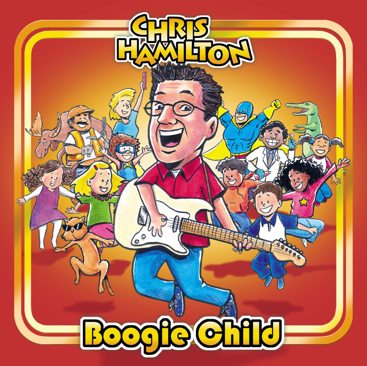 Chris Hamilton Boogie Child