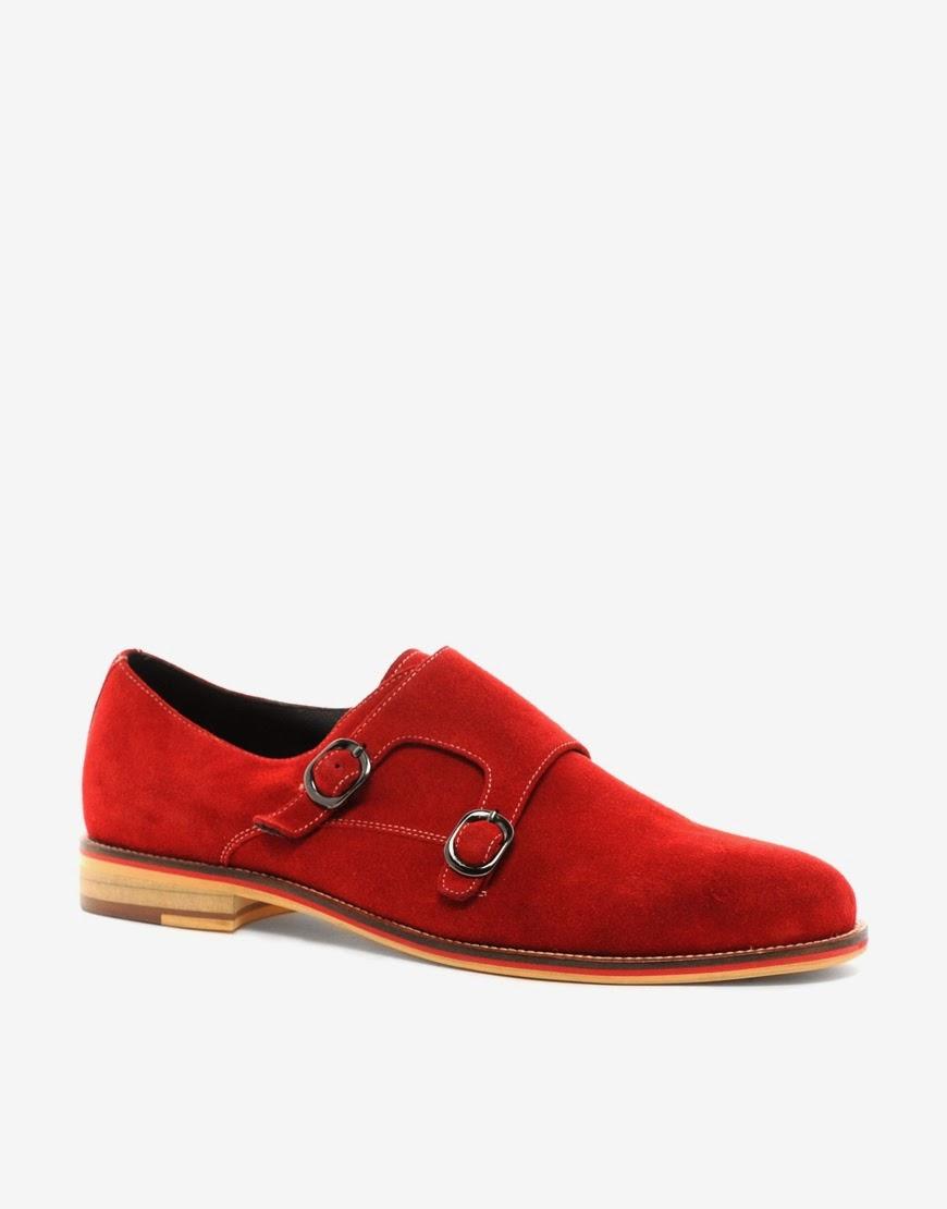 Antoine+Stanley Knox Monk Strap Shoe